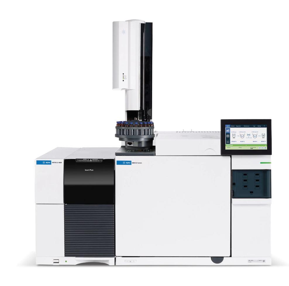 کروماتوگرافی گاز جرمی (GC-MS)